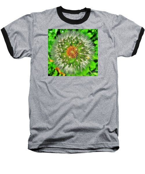 Dandelion Circle Baseball T-Shirt