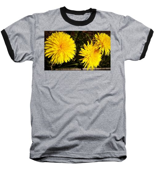 Baseball T-Shirt featuring the photograph Dandelion Weeds? by Martin Howard