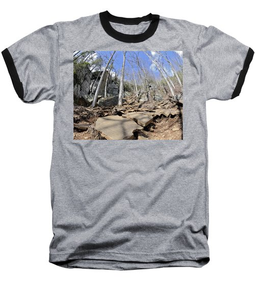 Dangerous Hiking Trail Baseball T-Shirt
