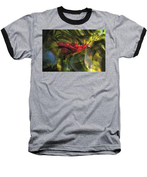 Baseball T-Shirt featuring the digital art Dangerous by Richard Thomas