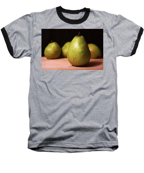 D'anjou Pears Baseball T-Shirt by Joseph Skompski