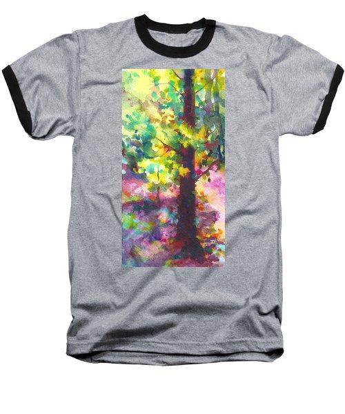 Dappled - Light Through Tree Canopy Baseball T-Shirt