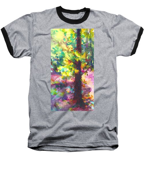 Dappled - Light Through Tree Canopy Baseball T-Shirt