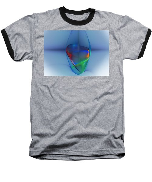 Dark Matter And Gravity Waves Revealed Baseball T-Shirt by David Lane