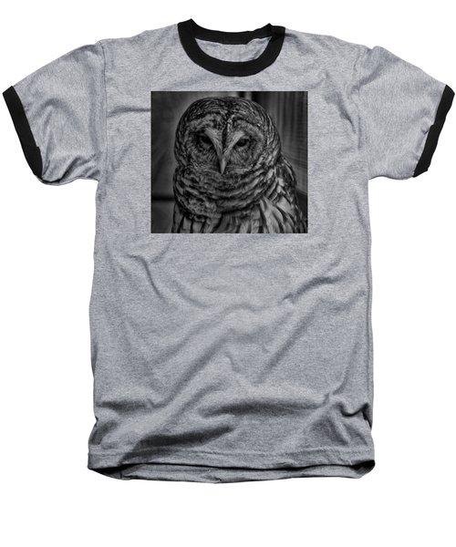 Dark Owl Baseball T-Shirt