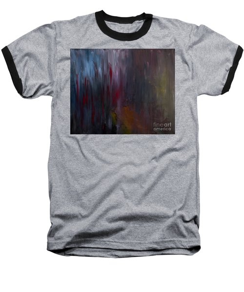 Dark Rain Baseball T-Shirt