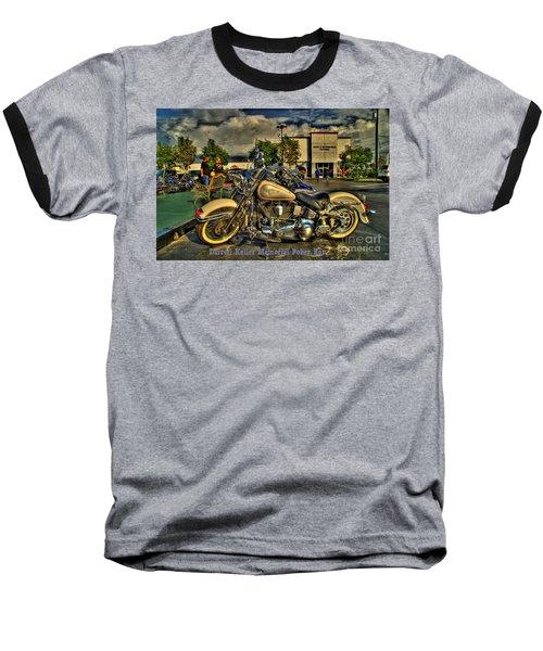 Darrell Keller Memorial Poker Run Baseball T-Shirt
