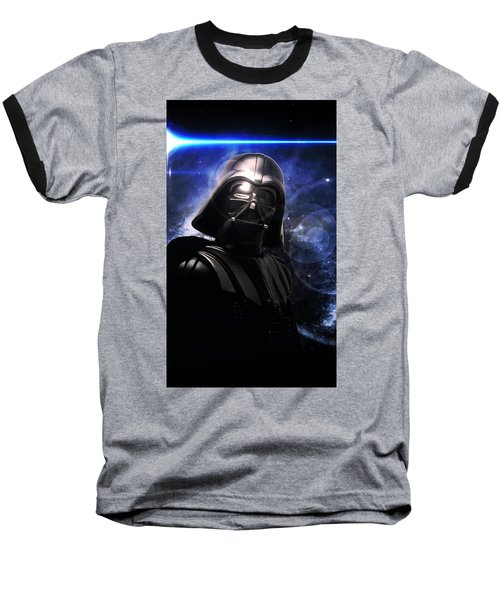 Darth Vader Baseball T-Shirt by Aaron Berg