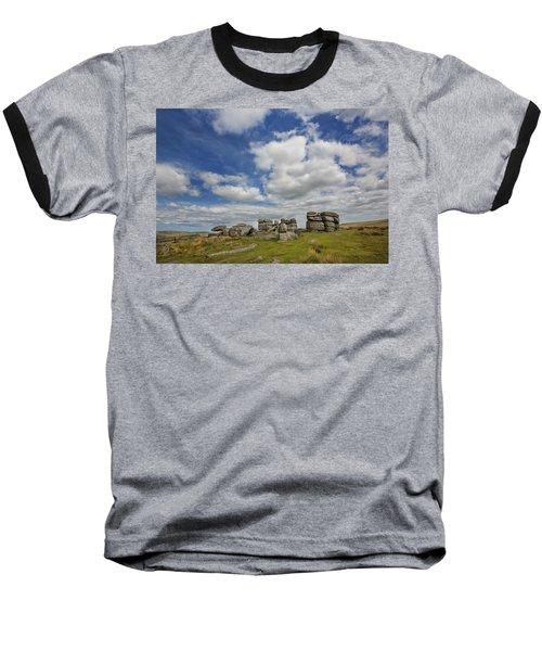 Dartmoor Tor Baseball T-Shirt