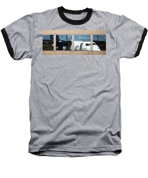 Dash Reflection Baseball T-Shirt by Greg Reed