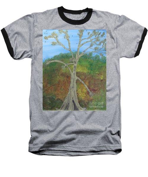 Dash The Running Tree Baseball T-Shirt