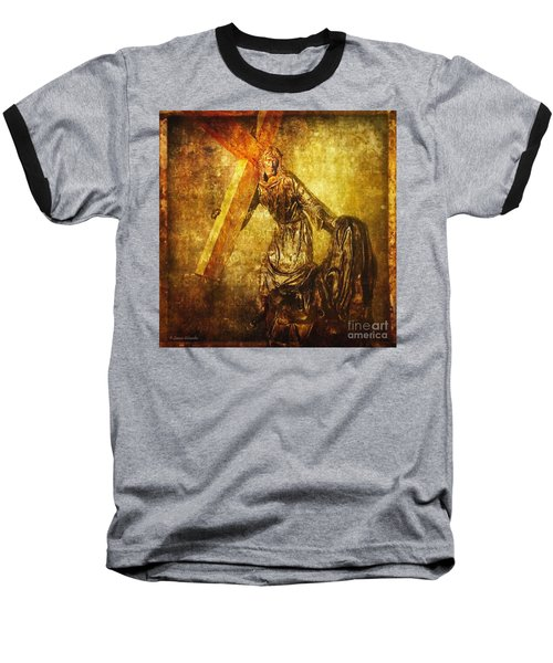 Daughters Of Jerusalem Via Dolorosa 8 Baseball T-Shirt