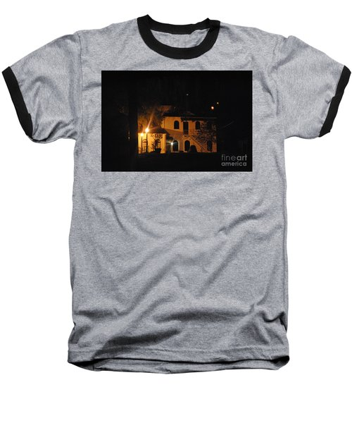 Davenport At Night Baseball T-Shirt