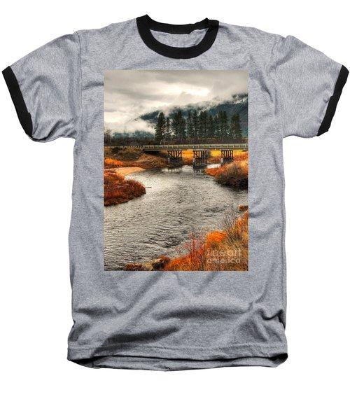 Baseball T-Shirt featuring the photograph Daveys Bridge by Sam Rosen