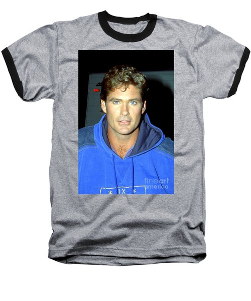 David Hasselhoff 1991 Baseball T-Shirt