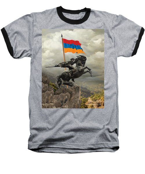 David Of Sassoun Baseball T-Shirt