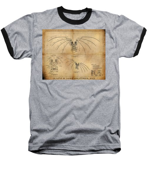 Davinci's Wings Baseball T-Shirt