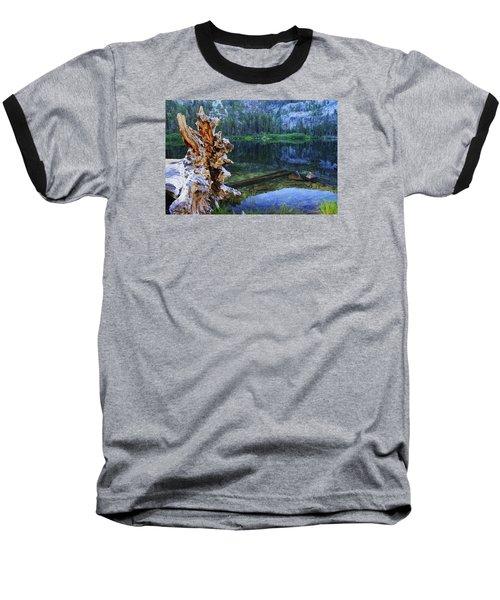 Baseball T-Shirt featuring the photograph Dawn Arrives At Eagle Lake by Sean Sarsfield