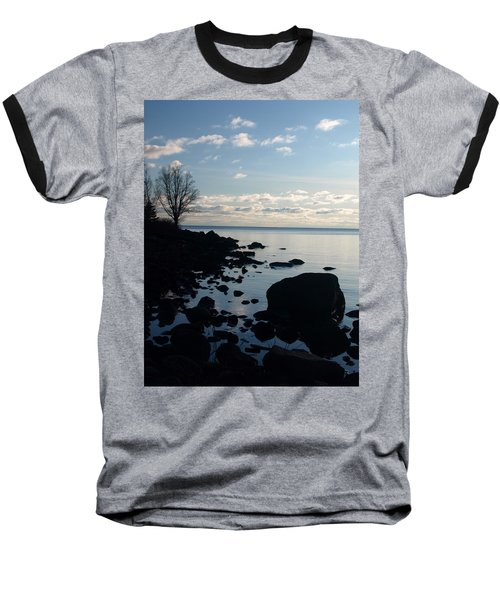 Baseball T-Shirt featuring the photograph Dawn At The Cove by James Peterson