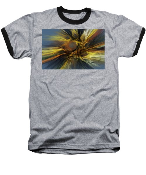 Baseball T-Shirt featuring the digital art Dawn Of Enlightment by David Lane