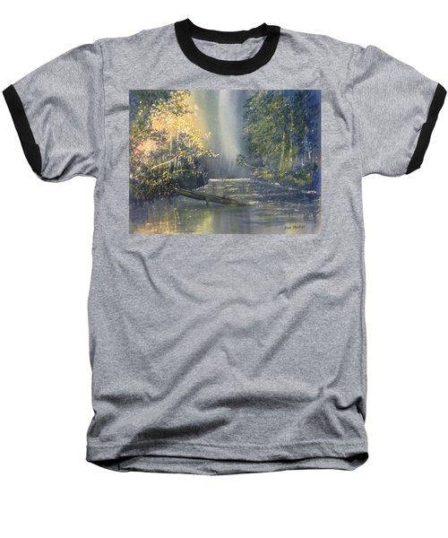 Dawn On The Derwent Baseball T-Shirt