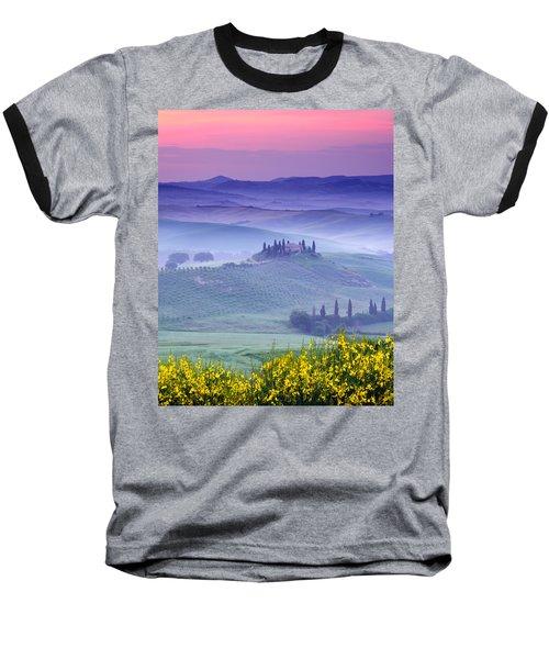Dawn Over Belvedere Baseball T-Shirt