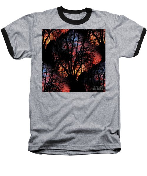 Baseball T-Shirt featuring the photograph Sunrise - Dawn's Early Light by Luther Fine Art