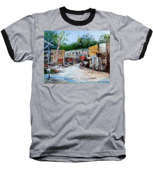 Railroad Crossing Baseball T-Shirt