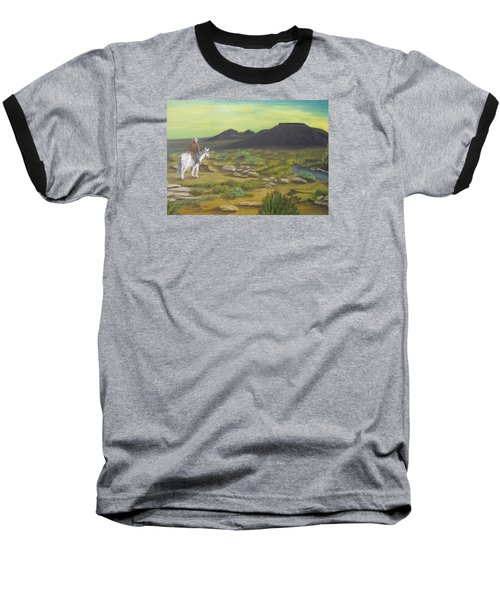 Day Is Done Baseball T-Shirt by Sheri Keith
