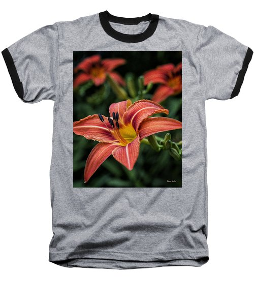 Day Lilies Baseball T-Shirt