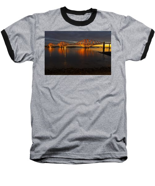 Daybreak At The Forth Bridge Baseball T-Shirt