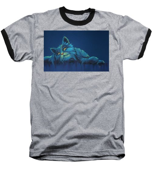 Baseball T-Shirt featuring the drawing Daydreams by Cynthia House