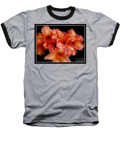 Baseball T-Shirt featuring the photograph Daylilies 1 by Rose Santuci-Sofranko