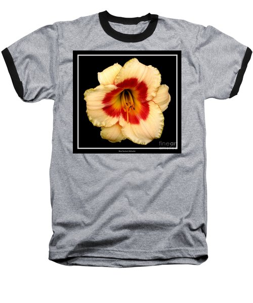 Baseball T-Shirt featuring the photograph Daylily 3 by Rose Santuci-Sofranko