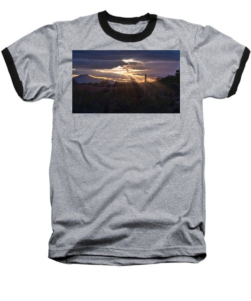 Baseball T-Shirt featuring the photograph Days End by Dan McManus