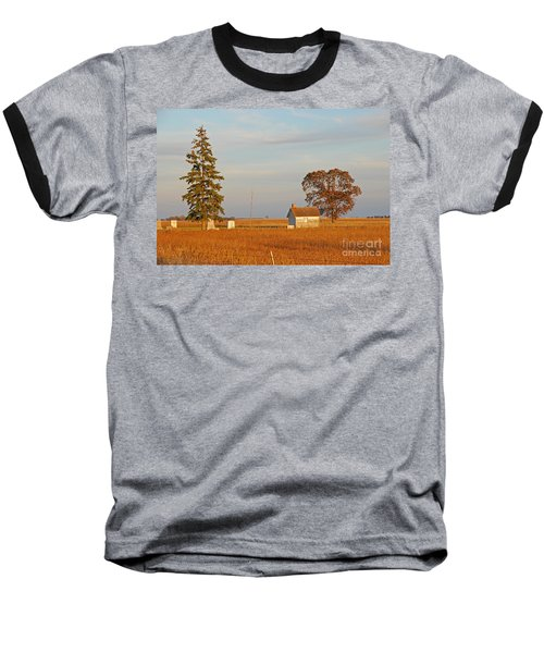 Baseball T-Shirt featuring the photograph Days End by Mary Carol Story