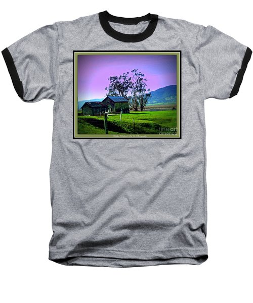 Baseball T-Shirt featuring the photograph Days Gone By by Bobbee Rickard