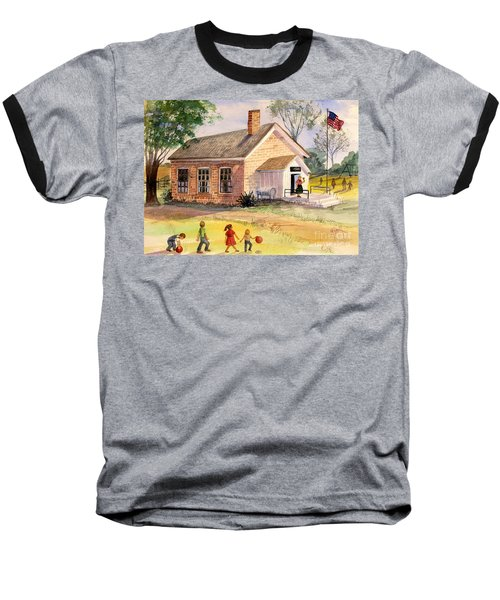 Days Gone By Baseball T-Shirt by Marilyn Smith