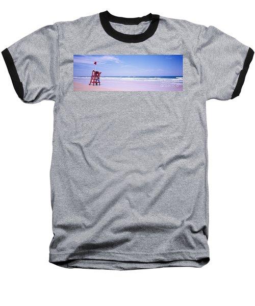 Daytona Beach Fl Life Guard  Baseball T-Shirt