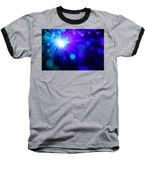 Dazzling Blue Baseball T-Shirt