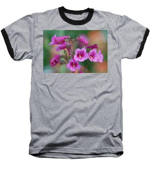 Baseball T-Shirt featuring the photograph Pink Flowers by Tam Ryan