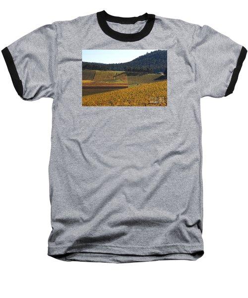 golden vines-Victoria-Australia Baseball T-Shirt by Joy Watson