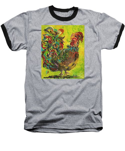 De Colores Rooster #2 Baseball T-Shirt