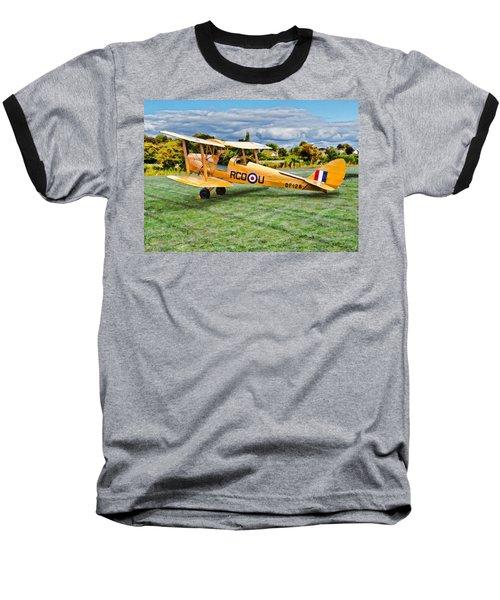 De Havilland Dh82 Tiger Moth Baseball T-Shirt