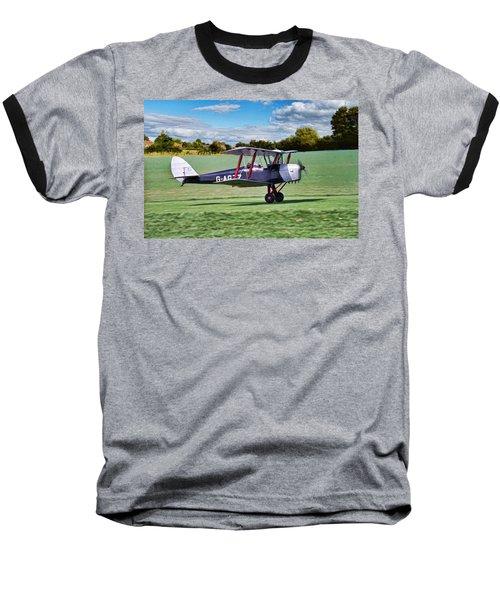 De Havilland Tiger Moth Baseball T-Shirt
