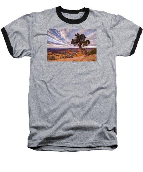 Dead Horse Point Sunrise Baseball T-Shirt by Dustin  LeFevre