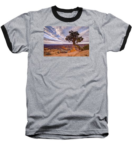 Dead Horse Point Sunrise Baseball T-Shirt