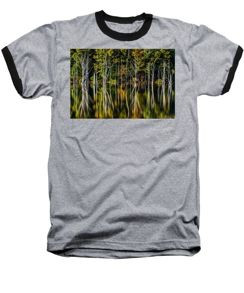 Baseball T-Shirt featuring the photograph Deadwood by Mihai Andritoiu