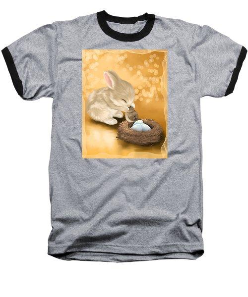 Dear Friend Baseball T-Shirt by Veronica Minozzi