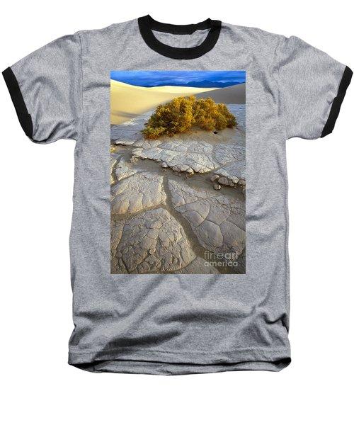 Death Valley Mudflat Baseball T-Shirt